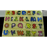 Wooden Educational Letter Puzzle - Perfect For Children To Develop There Alphabet