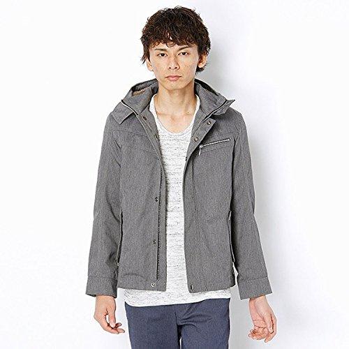 MKオム(MK homme) ブルゾン(ショートモッズコート)【チャコール/48(L)】