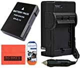 Big Mike'S En-El14 Battery And Charger Kit For Nikon D3100 D3200 D5100 D5200 Coolpix P7000 P7100 P7700 Digital Slr Camera + More!!