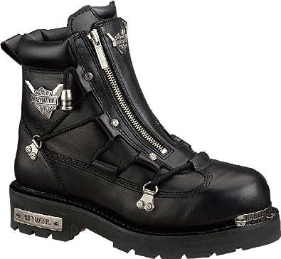 harley davidson biker boots d91680 brake light engineerstiefel schwarz black harley schuhe. Black Bedroom Furniture Sets. Home Design Ideas