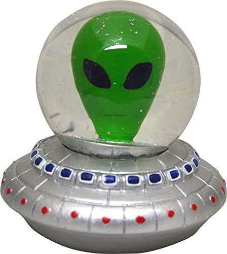 Alien Ship Snow Globe