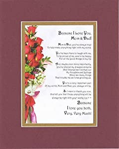 I Love Mom And Dad Poems I Love You  Mom and Dad