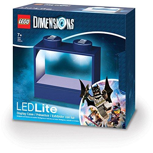 Santoki LEGO Dimensions Lighted Display Case, Blue
