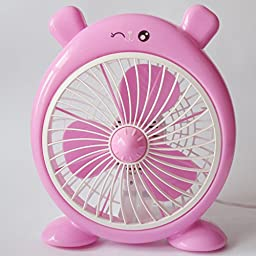 YONG Cartoon child small desktop fan fan