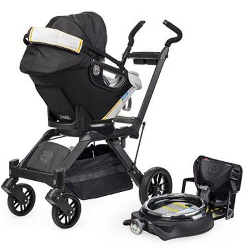 Orbit Baby Infant Stroller System G3 - Black / Slate front-620270