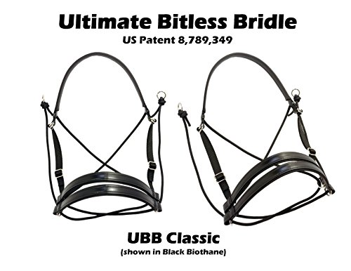 Ultimate Bitless Bridle (Black, Regular/Full) (Dr Cook Bitless Bridle compare prices)