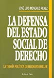 img - for DEFENSA DEL ESTADO SOCIAL DEL DERECHO book / textbook / text book
