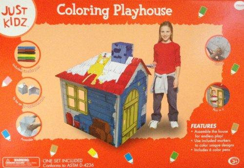 Just Kidz Coloring Playhouse