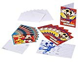 Mickey Mouse Clubhouse Invite and Thank You Combo, 8 Pack, Party Supplies