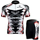 Cycling Bicycle Bike Comfortable Outdoor Jersey Shorts Set