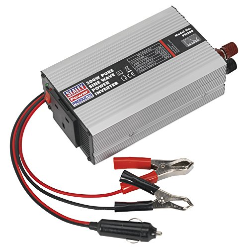 Sealey PSI300 Power Inverter Pure Sine Wave, 300 W, 12 V DC, 230 V, 50 Hz