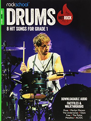 Rockschool Hot Rock Drums Grade 1