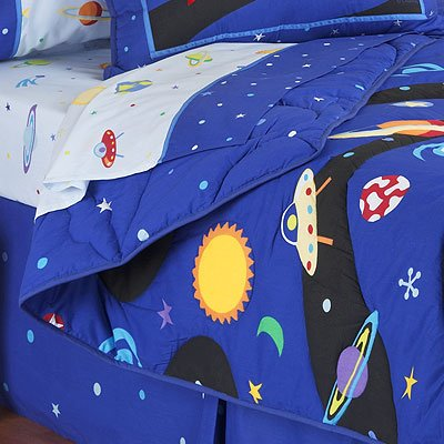 Twin Comforter Sheet Set Out of This World