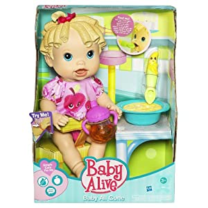 Amazon Com Baby Alive Baby All Gone Blonde Toys Amp Games