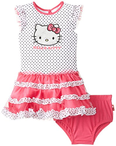 Hello Kitty Baby-Girls Infant Tutu Dress with Kitty