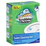 Scrubbing Bubbles Toilet Cleaning Gel, Continuous Clean, Fresh Clean