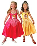 DISNEY PRINCESS ~ Sleeping Beauty To Golden Belle (Reversible) - Kids Costume 5 - 6 years