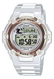 Casio Baby-G Watch BG-3000-7AER Ladies Digital Watch with Resin Strap