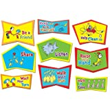 Eureka Dr. Seuss Classroom Rules Bulletin Board Sets, 4 Panels 17 x 24