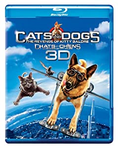 Cats & Dogs: The Revenge of Kitty Galore (Bilingual) [Blu-ray 3D + Blu-ray + DVD + Digital Copy]