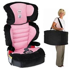 britax e9la8h7kit1 parkway sg belt positioning booster seat travel system with a. Black Bedroom Furniture Sets. Home Design Ideas