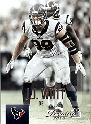 2015 Prestige #110 J.J. Watt - Houston Texans (Football Cards)