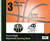 Anaconda Sports® MG-BSKB-SCORE The Rock® Official Basketball Scorebook