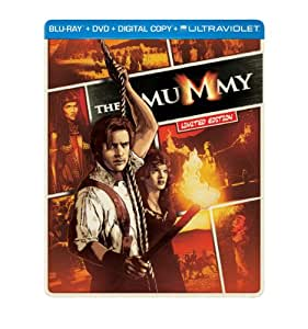 The Mummy (1999)  (Steelbook) (Blu-ray + DVD + Digital Copy + UltraViolet)