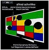 シュニトケ:大オーケストラのための「リチュアル」「真夏の夜の夢、ではなくて」「パッサカリア」「身を慎み目を覚ましておれ(ファウスト・カンタータ)BIS-CD-437」