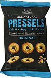 Dream Pretzels Pressels Pretzel Chips, Original, 7.1 Ounce (Pack of 12)