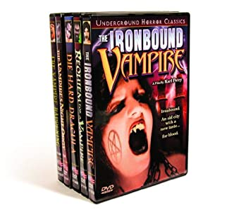Vampire Night Orgy Collection: Ironbound Vampire (1998) / Requiem For A Vampire  (2005) / Die Hard Dracula (1998) / Vampires Night Orgy (1972) / Vampire Happening (1972)