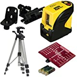 STANLEY 1-77-117 Self Levelling Cross Line Laser With Tripod