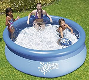 Summer Escapes 8 39 Quick Set Ring Pool 8 39 X30 Toys Games