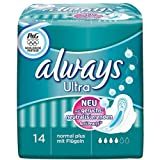Always Ultra Normal Plus With Wings 4 x 14 Pack