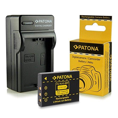 caricabatteria-batteria-klic-5001-per-kodak-easyshare-dx6490-dx7440-dx7590-dx7630-p712-p850-p880-z73