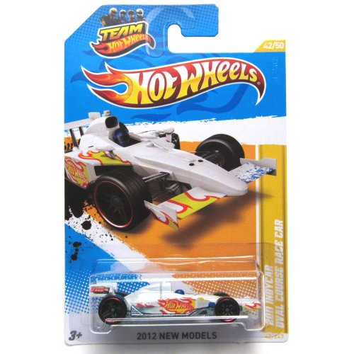 2012 Hot Wheels New Models 2011 Indycar Oval Course Race Car White #42/247 (Indycar Model compare prices)