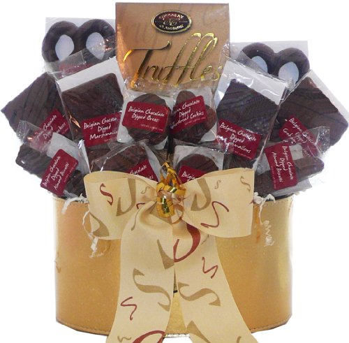 Art of Appreciation Gift Baskets Belgian Chocolate Fantasy Truffles Gift Basket