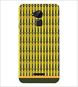 PrintDhaba Pattern D-1705 Back Case Cover for COOLPAD NOTE 3 LITE (Multi-Coloured)