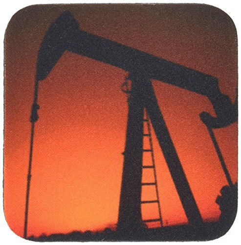 3drose-cst-93395-1-industry-oil-rig-tulsa-oklahoma-us37-bba0002-bill-bachmann-soft-coasters-set-of-4