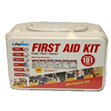 First Voice GFA101 101 Piece Plastic First Aid Kit