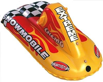 Gizmo Snowmobile Aufblasbarer Schlitten Bob Snowtube Snow-tube 2011 - Sportsstuff von SPORTSSTUFF