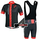 2014 Outdoor Sports Pro Team Men's Short Sleeve Pinarello Cycling Jersey and Shorts Set (Bib  suit 2, XXL)