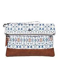 Roxy Desert Sunrise Wallet Foldover Clutch, Azulejos Sportwear Combo Blue Bird, One Size