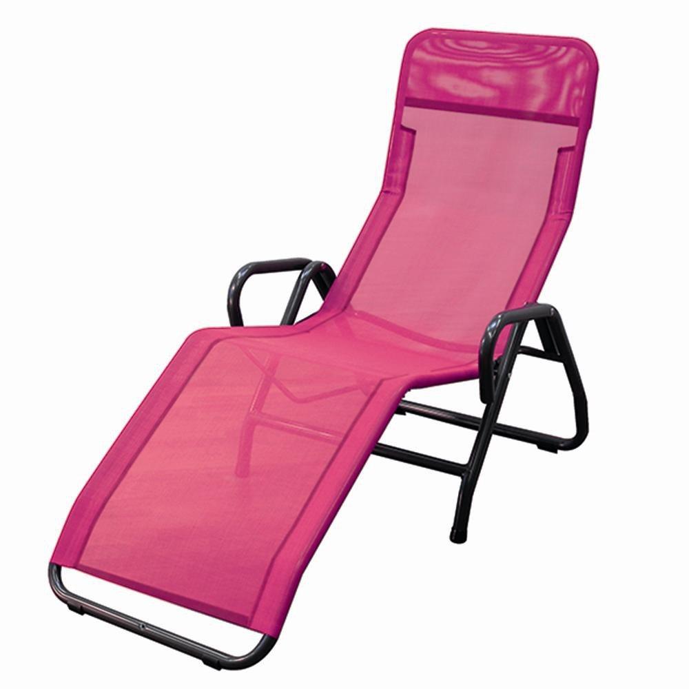 MFG 2603319 Bäderliege Pool 3, Gestell anthrazit, Bezug pink online kaufen