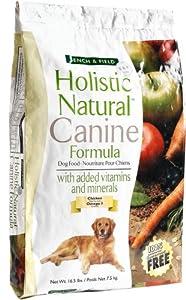 Bench & Field Holistic Natural Canine Formula Dry Dog Food, 16.5-Pound Bag