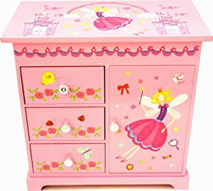 with jewelry box is to