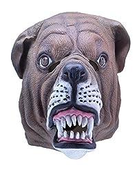 Latex Dog Bulldog Mask Puppy Canine Animal Pet Costume Rubber Masks Adult from bristol novelty