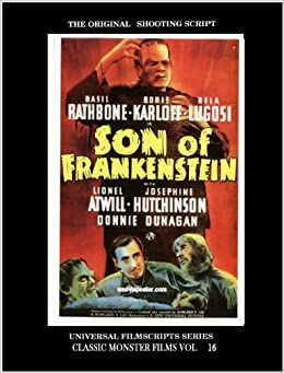"""Son of Frankenstein"": 50th Anniversary Edition, 1939-89 ..."