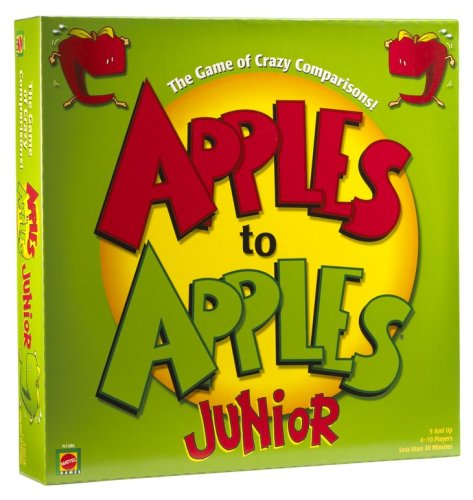 Mattel: Apples to Apples: Junior - The Game of Crazy Comparisons! - Buy Mattel: Apples to Apples: Junior - The Game of Crazy Comparisons! - Purchase Mattel: Apples to Apples: Junior - The Game of Crazy Comparisons! (Mattel, Toys & Games,Categories,Games,Card Games,Card Games)