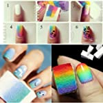 Tonsee� Nail Art Stamping �ponges mod...